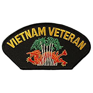 FindingKing Vietnam Veteran Mütze Patch, 2, 3, 5 X 1, 10.16 cm - 10.16 cm