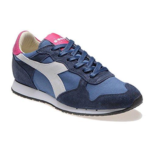 Diadora Heritage - Trident W SW Low Blu/Magenta - Sneakers Mujer - 36 EU