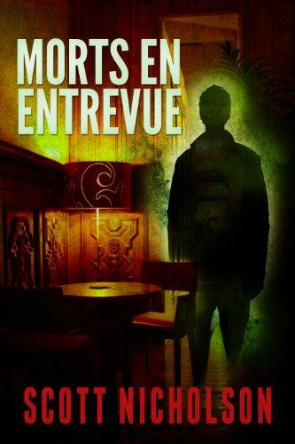 Couverture du livre Morts en entrevue: thriller surnaturel