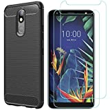 MYLBOO Case For LG K40 Case With Screen Protector,[3 in 1]
