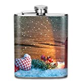 Our Stainless Steel Flask Is Great For So Many Social Occasions : Ideal For Football, Basketball, And Baseball Games / Nice For Hiking, Traveling, Hunting And Mountaineering