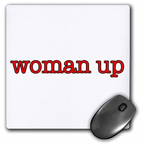 3dRose Mp_274526_1 - Alfombrilla de ratón para mujer, color rojo