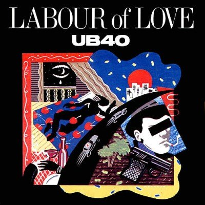UB40 / Ltd Edition CD Gold Disc / Record / Labour of Love