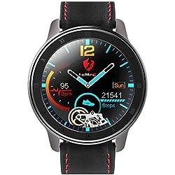 Health & Fitness Tracker Orologio per attività sulla Pressione Sanguigna Heart Rate Monitor Nuovo Design, Frequenza Cardiaca con Fascia Toracica, Precisione ECG, Impermeabile