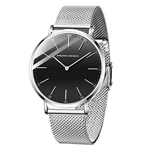 Pagani Design Neutral Analog Quartz Watch Orologio ultra sottile e minimale...