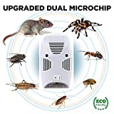 ADTALA Ultrasonic Repellent, Electronic Bug Repellent Reject Ant, Mosquito, Rat, Roach, Flea, Rodent