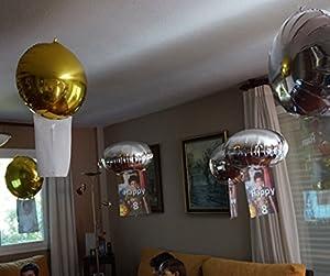 publicidad para eventos: 16 Globos de helio mágicos: FLOTAN sin subir ni bajar (en suspensión). Absolutam...