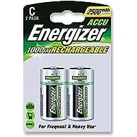 Batteries - Rechargeable - BATTERY NIMH C 2500MAH PK2 POWER+ - 626148