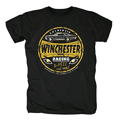 TSP Winchester Bros Racing T-Shirt Herren XXXXL Schwarz -