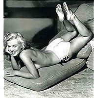 Photo Monroe Marilyn 093 A4 10x8 Poster Print