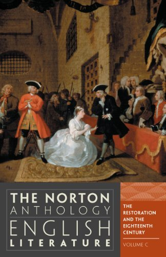 By Stephen Greenblatt - The Norton Anthology of English Literature: Restoration and the 18th Century v. C Rest/18 C (9th Revised edition)