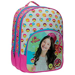517YQzGdLRL. SS300  - Disney 34124A1 Luna Icons Mochila Escolar, 26.88 Litros, Color Rosa