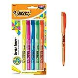 BIC Brite Liner surligneurs fluorescents 5/Pkg-divers coloris