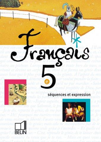 Français 5e, 2000 (livre de l'élève)