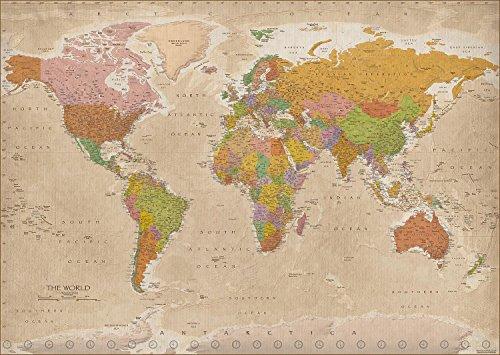 Póster XXL mapa del mundo