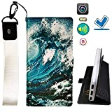 Lovewlb Case for Doogee S90 Pro Cover Flip PU Leather +
