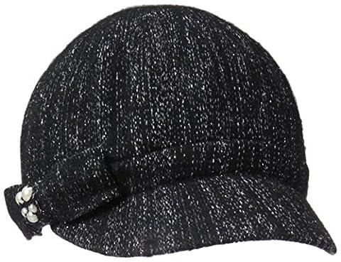 Betmar Women's Lucerne Cap, Black, One