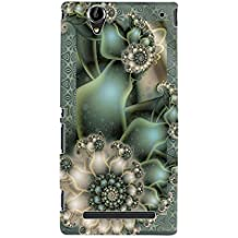ColourCraft Printed Design Back Case Cover for SONY XPERIA T2 ULTRA DUAL D5322