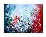 Stitches Acryl Gemälde 'spring feelings' 60x80cm | Orginal handgemaltes Leinwandbild XXL | Abstrakte Kunst | Wandbild Acrylbild Moderne Kunst | Unikat