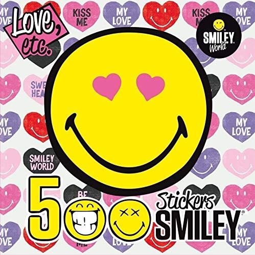 500 Stickers Smiley - LOVE, ETC