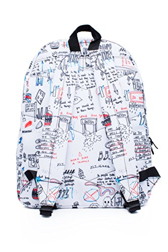 Hype Speckle Rucksack - 18L ILLUSTRATED