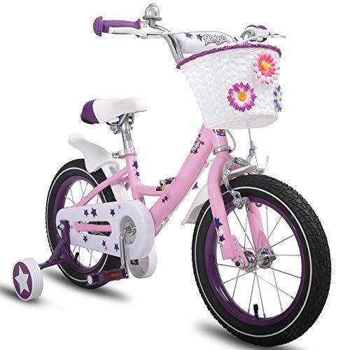 YUMEIGE Kinderfahrräder Freestyle Kids 'Bikes, mit Stützrädern Fahrrad 12