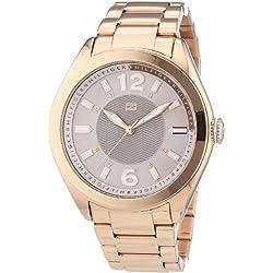 Tommy Hilfiger 1781369 - Reloj de Cuarzo para Mujer, Correa de Acero Inoxidable Chapado Color Oro Rosa