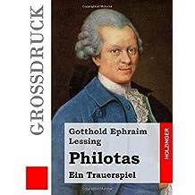 Philotas (Großdruck): Ein Trauerspiel