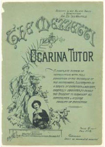 Ocarina Noten Mezzetti Ocarina Tutor (Neuauflage der historischen Schule für Ocarina, 76 Seiten, in englisch und französisch verfasst)