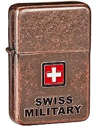 Swiss Military Copper Travel Lighter (LIG-4)