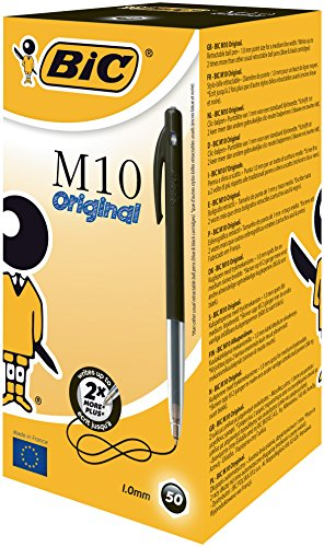 bic-m10-clic-medium-stylo-bille-retractable-noir