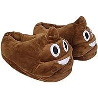 Candora, Pantofole donna marrone Brown Taglia (Mens Sheepskin Pug Boots)