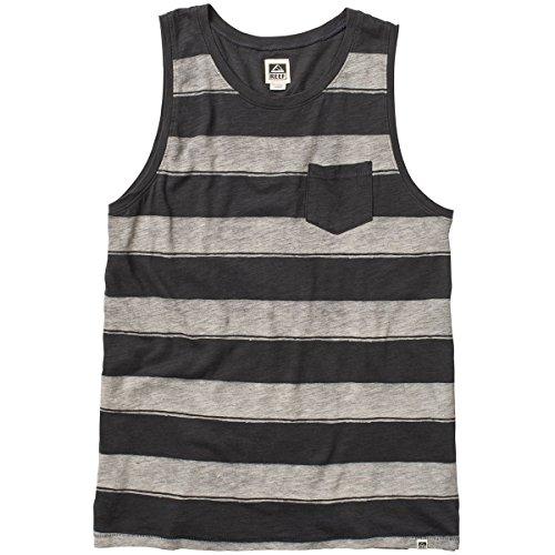 Reef Stripe It Tank Herren Shirt, Black, schwarz-(schwarz) Reef Stripe
