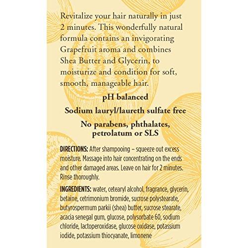 Burt's Bees Hair Repair Shea & Grapefruit Deep Conditioner 5 Fluid Ounces