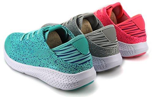 Damen Mädchen Sneaker Sportschuhe Turnschuhe Laufschuhe Freizeitschuhe 6317 Hellblau