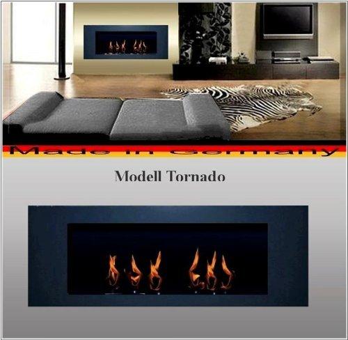Bio Etanol Chimenea Modell Tornado antracita