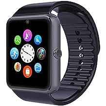 Smart Watch Bluetooth GT08, reloj de pulsera para Android Samsung HTC LG Sony Huawei (todas las funciones), iOS iPhone 5/5S/6/Plus