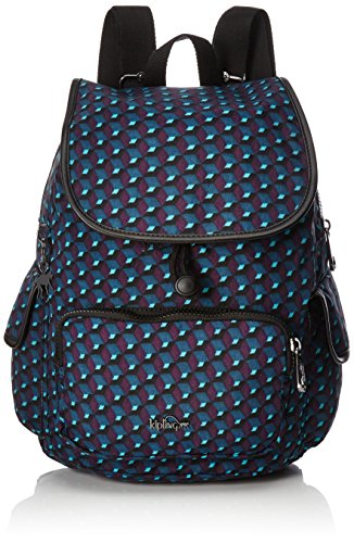 Kipling - City Pack S, Zaini Donna Multicolore (Mirage Print)