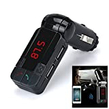 KFZ Bluetooth MP3-Player – kingwo Hot Dual USB Auto Kit Ladegerät Wireless Bluetooth Stereo MP3-Player FM Transmitter geeignet für Android/iPhone/andere Smartphones