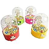 10Stück Mini Basketball, Spiel unter Glocke–Modell zufällige–Spiele Spielzeug Kirmes Geburtstag Kinder–598