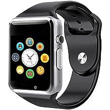 2016 nuevo A1 Bluetooth Smart Watch Wristphone relojes para Apple iPhone 2 6 Samsung S4/Nota/Nota 3 HTC Android/IOS teléfono