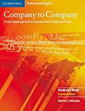 Company to Company Fourth Edition: Intermediate. Student's Book