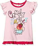 #2: Donuts Baby Girls T-Shirt (265970491_Light Pink_12M)