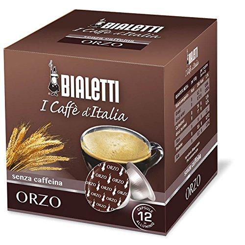 Confezione da 12 capsule Caffè Bialetti Orzo senza caffeina