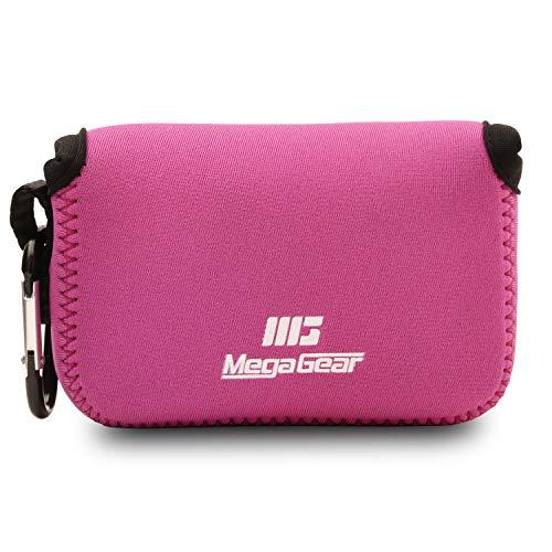 MegaGear MG792 Nikon Coolpix W100, S33 Ultraleichte Kameratasche aus Neopren - Rosa