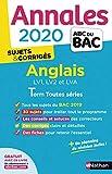 Annales ABC du Bac 2020 Anglais Term Toutes séries...