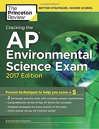 Download Cracking The Ap Environmental Science Exam 2017 Edition