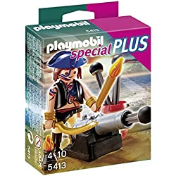 Playmobil Especiales Plus - Pirata con cañón (5413)