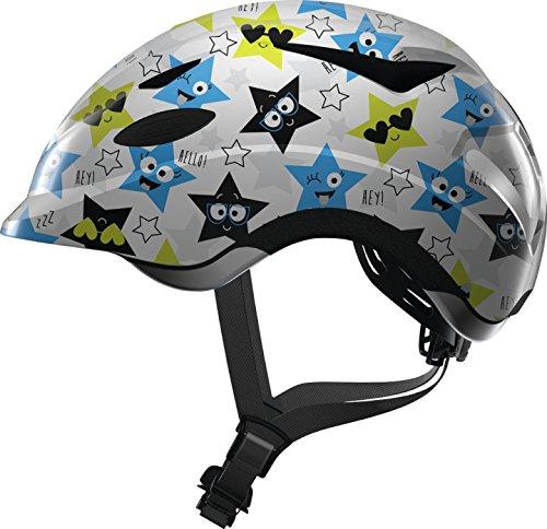 Abus Fahrrad Kinderhelm Fahrradhelm Anuky White Star Gr. M 52-57 cm 2019