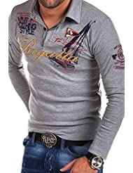 MT Styles manches longues Polo REGATTA homme R-0665